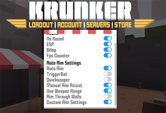 krunker.io aimbot hack
