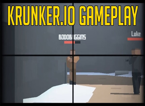 krunker.io gameplay